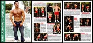Exercise for Men Only magazine, December 2010 issue,